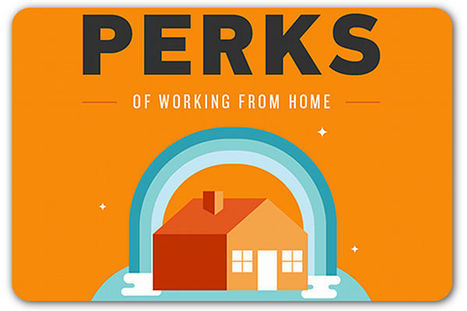 The perks of working from home | Articles | Home | Infographics for English class | Scoop.it