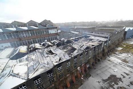 Rochdale, UK News:  Fire at former asbestos factory | Asbestos Legislation | Scoop.it