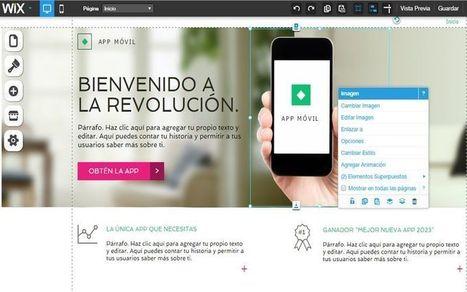 Wix en profundidad, la plataforma para crear sitios web gratis | El rincón de mferna | Scoop.it