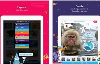 WonderBox App- Engage Students Through Creative Challenges ~ Educational Technology and Mobile Learning | 21st Century Learning | Scoop.it