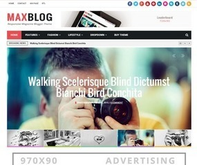 MaxBlog Blogger Template | Blogger Templates | Scoop.it