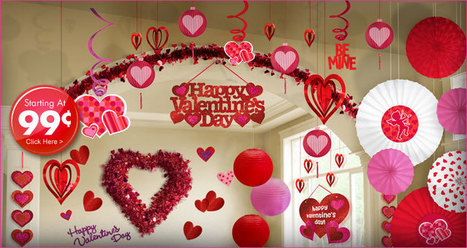 Exceptional And Outstanding Valentines Day Decorations | Pretty Ur Party | Scoop.it