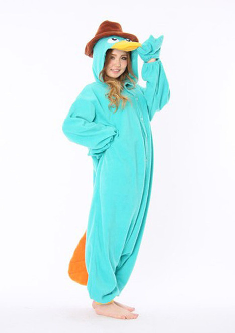 Agent P adult onesies Kigurumi | adult onesies sale-pajama.com | Scoop.it