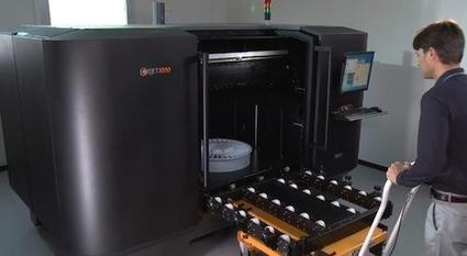 Design News - CAD/CAM Corner - Objet's Largest 3D Printer Doesn't Lose Precision | Made Different | Scoop.it