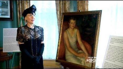 $50,000 Painting Discovered Tucked Away In Fremont Museum Attic, Confirmed On PBS's AntiquesRoadshow - CBS San Francisco   Paintings   Scoop.it