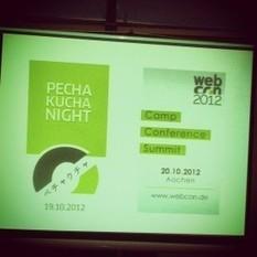 Die Pecha Kucha Night auf der webcon2012 › it's a hoomygumb | Pressespiegel ScanThe.Net | Scoop.it