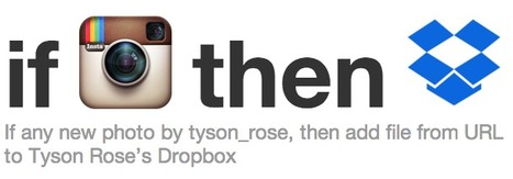 IFTTT / My Recipes | Muse Junction | Scoop.it