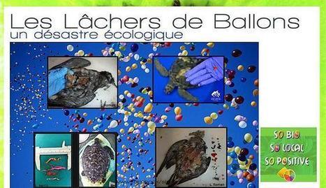 Les Lâchers de Ballons : un désastre écologique | Parent Autrement à Tahiti | Scoop.it