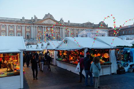 Festivités de Noël 2016. Les marchés de Noël à Toulouse   Toulouse La Ville Rose   Scoop.it