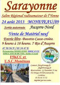 Association des Radioamateurs de la Sarthe: SARAYONNE 2013 | radioamateurs  news | Scoop.it