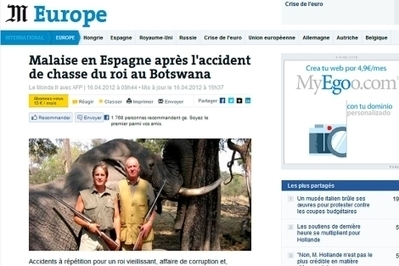 Disección internacional a la 'crisis de elefante' de la monarquía española | urdungarin | Scoop.it