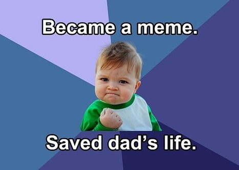 How Success Kid's Internet Fame Saved His Dad's Life | Media Literacy | Scoop.it