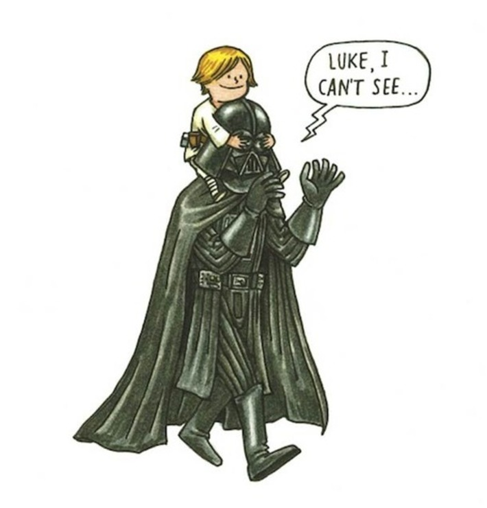 What if Darth Vader was a good father ? – 12 illustrations from Darth Vader and Son | Kitsch | Scoop.it