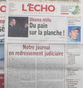 L'Écho-La Marseillaise placé en redressement judiciaire   DocPresseESJ   Scoop.it