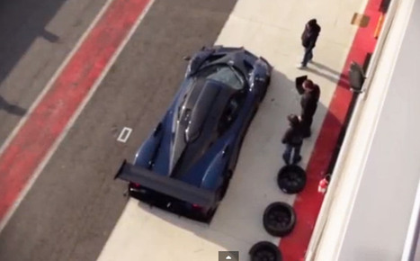 Pagani Zonda Revolucion Hits The Track: Video - Motor Authority | Pagani | Scoop.it