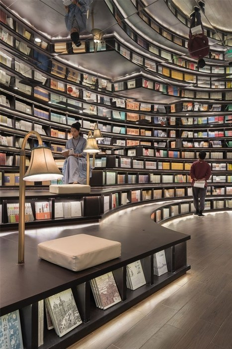 Mirror-filled Chinese bookstore seems infinite | Books, Photo, Video and Film | Scoop.it