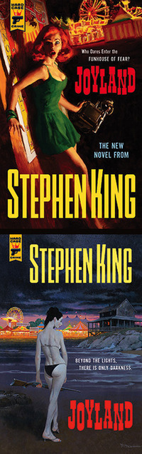 Joyland : 2 couvertures différentes chez Hard Case Crime | Stephen King Fr | Scoop.it