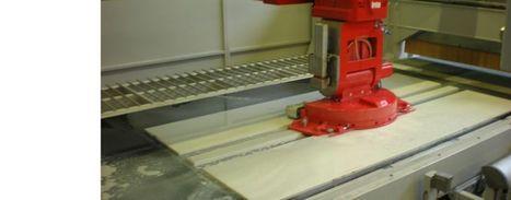 Bridge saw with vacuum pick-and-place system - SMART-CUT S/NC 550 OPTIMA - Breton S.p.a. | Smart-Cut 550 Optima | Scoop.it