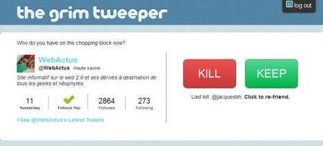 The Grim Tweeper pour optimiser votre TimeLine et vos Followers | Animer une communauté Twitter | Scoop.it