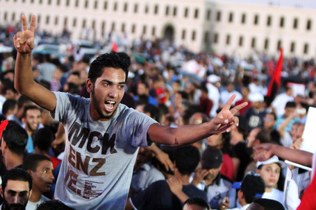 Protesting Libyans overrun militant compound in backlash against armed groups | Coffee Party News | Scoop.it