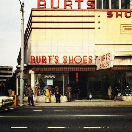 "Atlanta History Center • Shoe shopping on Peachtree Street in 1969. Browse... | Buffy Hamilton's Unquiet Commonplace ""Book"" 