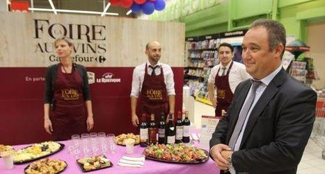 Le directeur de Carrefour Auch tend la main aux petits producteurs.#Gers #bonheur #pré   Vos Clés de la Cave   Scoop.it