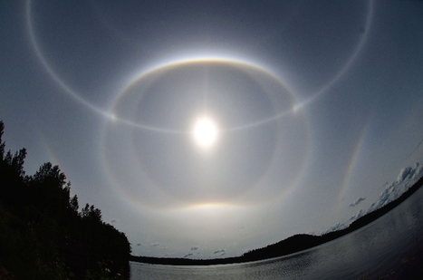 #Sun #Halos - #soleil #halo #parhélie #Finlande | Hurtigruten Arctique Antarctique | Scoop.it