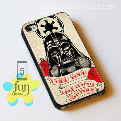 Darth Vader Red Rose iPhone 5 Case Cover from Funcases | Sport Merchandise | Scoop.it