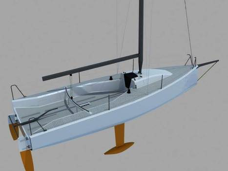 World's first one design sports boat with a wing sail! | Soft Wing Sails | Scoop.it