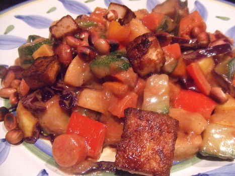 Kung Pao Tofu (Vegan) | My Vegan recipes | Scoop.it