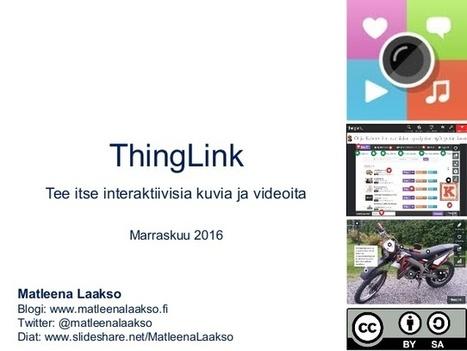 ThingLink opetuksessa | Karttakeppi | Scoop.it