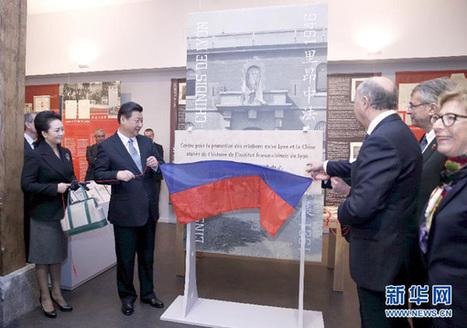 Xi Jinping en France: pour une mise en commun des rêves chinois et français   50e anniversaire de l'établissement des relations diplomatiques entre la France et la République populaire de Chine   Scoop.it
