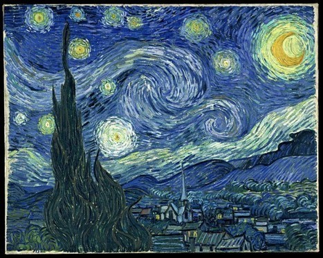 Digital Artist Creates Realistic Version of Van Gogh's Starry Night | Strange days indeed... | Scoop.it