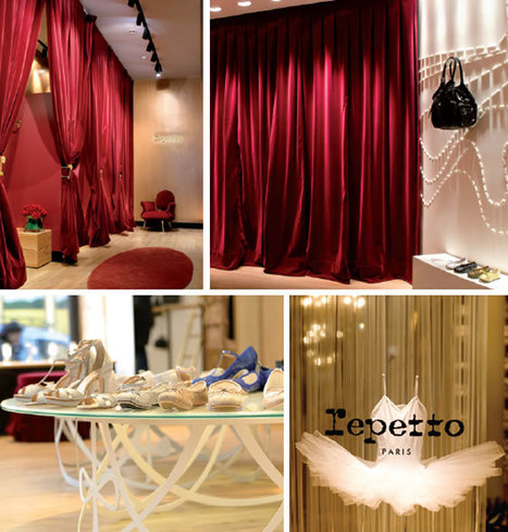 Repetto CEO Jean-Marc Gaucher choreographs a virtuoso performance | Retail Design Review | Scoop.it