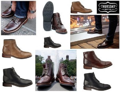 Introducing Thursday Boots, men's boots for both work and play in one | Fashion & Beauty | Scoop.it