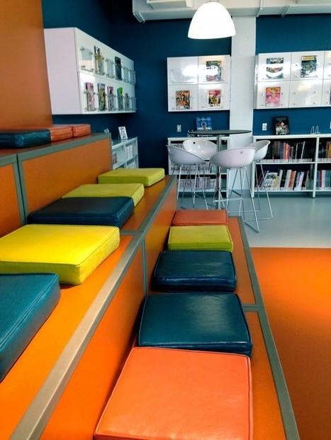 Veille en architecture et aménagement de bibliothèques : Mars et avril 2014   Architecture et aménagement en bibliothèque   Scoop.it