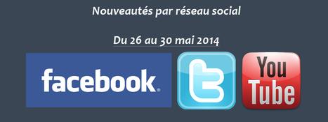 Récapitulatif des dernières fonctionnalités par réseau social : du 26 au 30 mai 2014 - Clément Pellerin - Community Manager Freelance & Formation réseaux sociaux | Facebook | Scoop.it