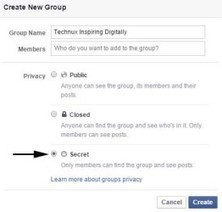 How to Create a Secret Facebook Group | TechNux- Tech Updates and much more | Scoop.it