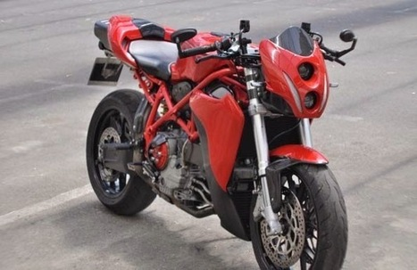Ducati 999 Urban Racer - Grease n Gasoline | MotoGP World | Scoop.it