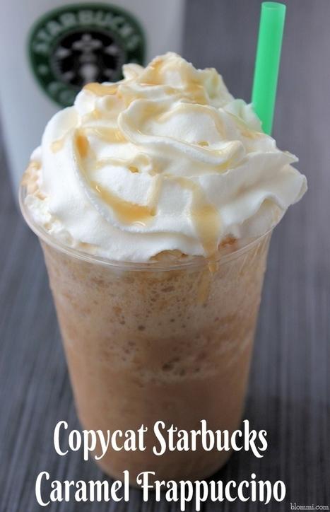 Copycat Starbucks Caramel Frappuccino Recipe | Parisfood. it! | Scoop.it