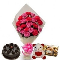 Valentines Flowers and Cake Delivery | PickSmiles.com | Flowers Delivery to India | Scoop.it