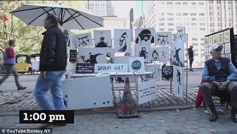 Ο Banksy πούλαγε έργα του στο δρόμο αντί 60 δολαρίων αλλά...τζίφος γιατί δεν τον αναγνώρισαν   art   Scoop.it