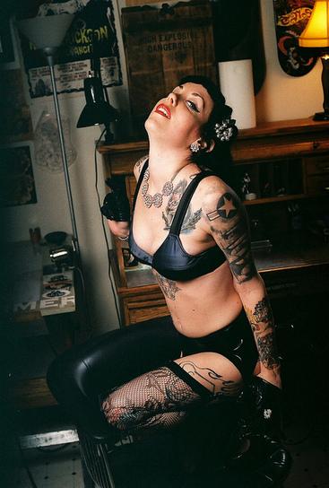 Inked Girls Gallery 130 - The  JR Goleno Edition w/  Miss Voodoo Valentine | Inked Girls | Scoop.it