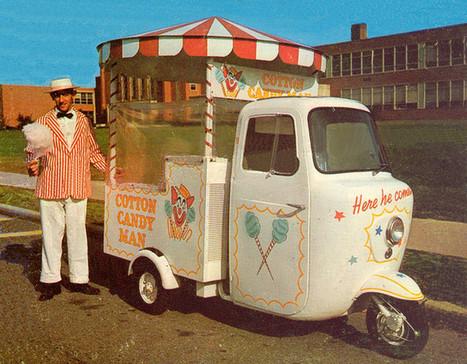 Cotton Candy Man | Kitsch | Scoop.it