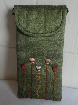 Hand-embroidered Glasses Case,handmade ethically | Jewelry Making & Beginning Stain Glass | Scoop.it