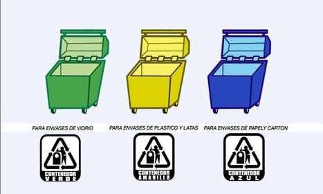 Basureros para reciclar: Si ves alguno.. ¡No lo pases por alto!   ¡Cuidemos el Medio Ambiente!   Scoop.it