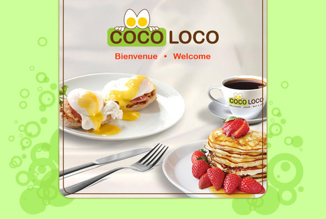 COCO LOCO Breakfas - Déjeuner - Lunch - Dîner - Juice Bar - Bar à Jus (Laval) | Web | Scoop.it