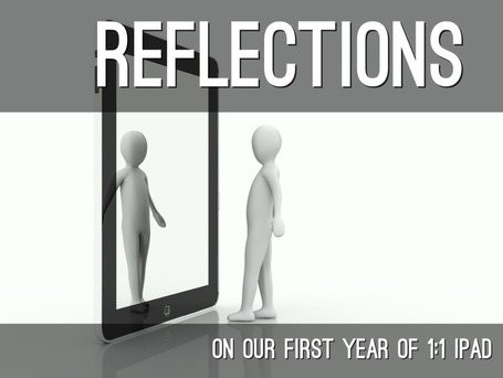 """Reflections On A 1:1"" by TechChef4u @HaikuDeck 