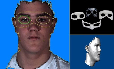 Scientists reveal 3D-printing tech behind football's zorro-style masks | 3D4Doctor | Scoop.it