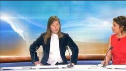 Laura, 19 ans, trisomique et présentatrice d'un jour sur BFMTV - 21/03 | Aide Médico Psychologique | Scoop.it